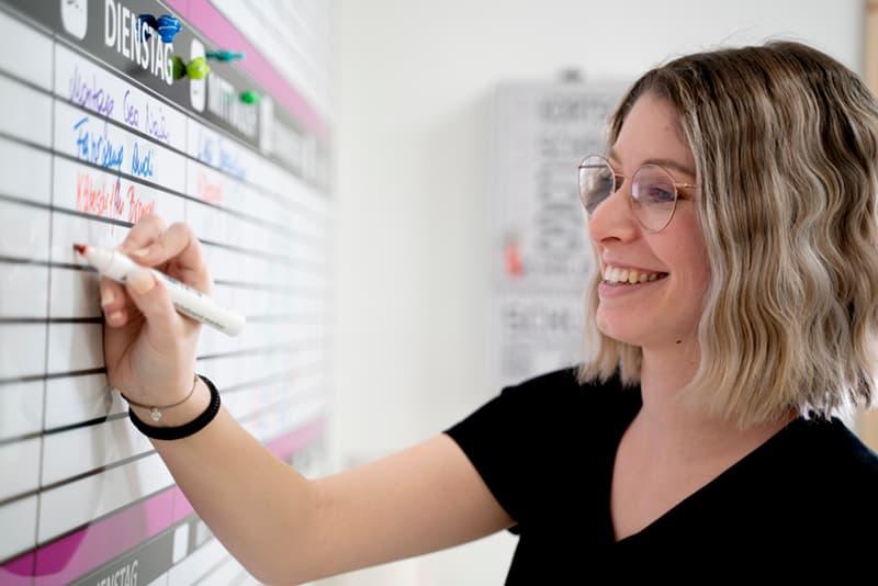 Anja Brandl, Geschäftsführerin der Kortschak Schriften GmbH